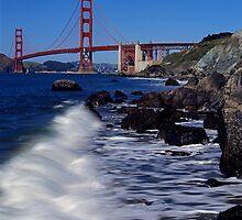 Marshall's Beach, San Francisco by Rodney Johnson