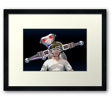 Guess who? Framed Print