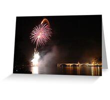 Fireworks on Avignon III Greeting Card