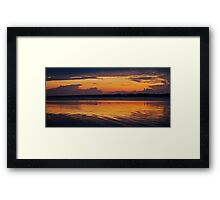 Morning Glory. 12-3-11 Framed Print
