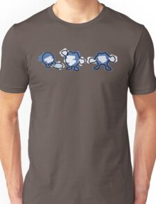 Poliwag, Poliwhirl, Poliwrath Unisex T-Shirt