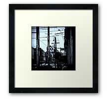 And I Find My Feet Down on Lonely Street Framed Print