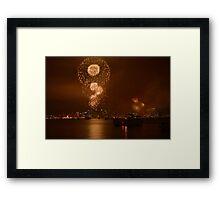 Big Bay Boom San Diego Framed Print