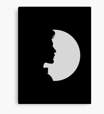 eleventh doctor shadow Canvas Print