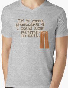 Pajamas are Awesome! Mens V-Neck T-Shirt