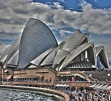 Sydney Opera House  by EblePhilippe