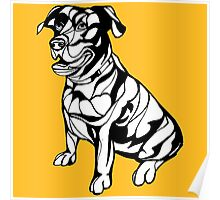 Sharpie Dogs: Labrador Retriever Poster