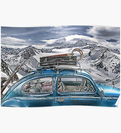 Beetle in the Alps Poster