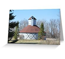 Round barn Windsor,Indiana Greeting Card