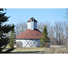 Round barn Windsor,Indiana Photographic Print