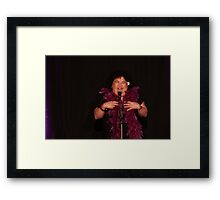 "Kehau performing in ""Three Stuffed Mums"" 2 Framed Print"
