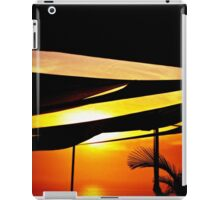 Golden Sunset Pacific Ocean iPad Case/Skin