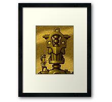 Nice Robot! Framed Print