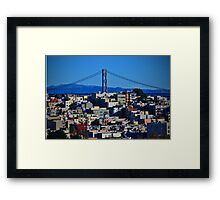 San Francisco U.S.A. Framed Print