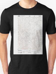 USGS Topo Map Oregon Bates 20110817 TM T-Shirt