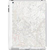 USGS Topo Map Oregon Bates 20110817 TM iPad Case/Skin