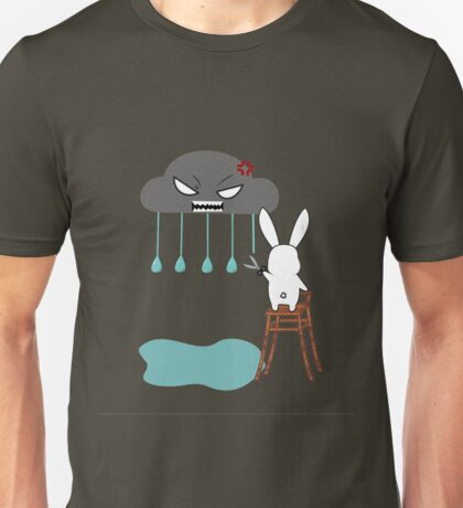 Stopping the rain Unisex T-Shirt