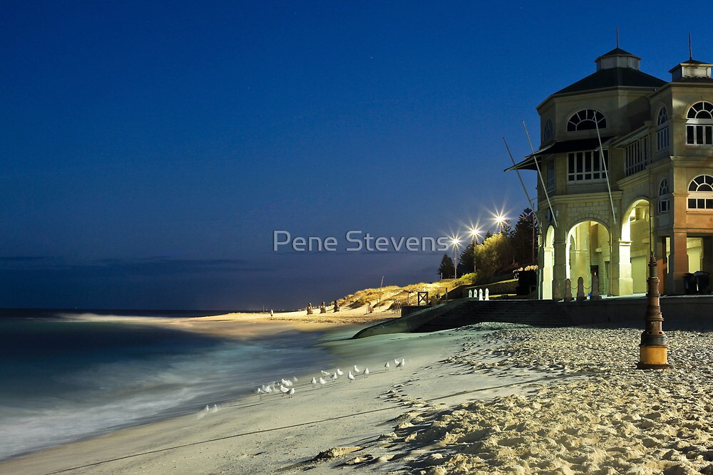 Tea Rooms ~ Cottesloe Beach  by Pene Stevens