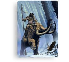 Frost Giant on Mammoth Canvas Print