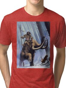 Frost Giant on Mammoth Tri-blend T-Shirt