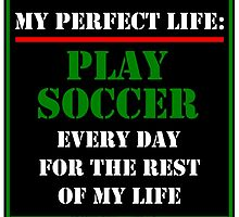 My Perfect Life: Play Soccer by cmmei