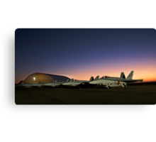 Flight Line Canvas Print