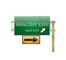 healthy life concept Photographic Print
