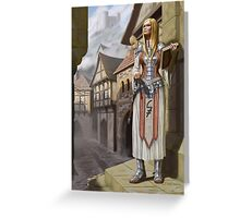 Mika the Cleric Greeting Card
