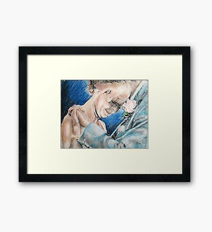 Wrapt in Each Other Framed Print