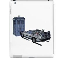 Dr Who Vs Back To the Future iPad Case/Skin