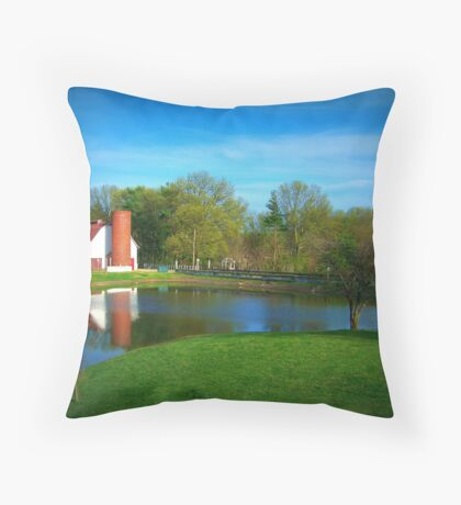 Allendale At Left Throw Pillow