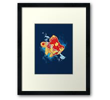 Star Fish Red Framed Print