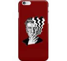 David Lynch smoking iPhone Case/Skin