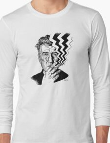 David Lynch smoking Long Sleeve T-Shirt