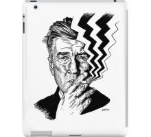 David Lynch smoking iPad Case/Skin