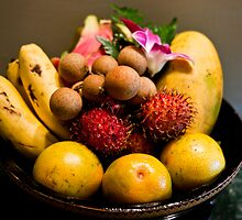 Southeast Asian Fruits by phil decocco