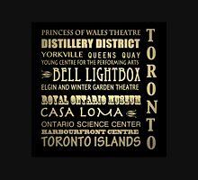 Toronto Canada Famous Landmarks T-Shirt