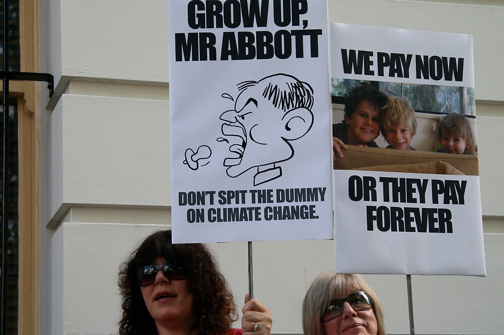 Grow up Mr Abbott by jayview