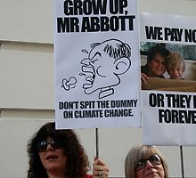 Grow up Mr Abbott by jayview