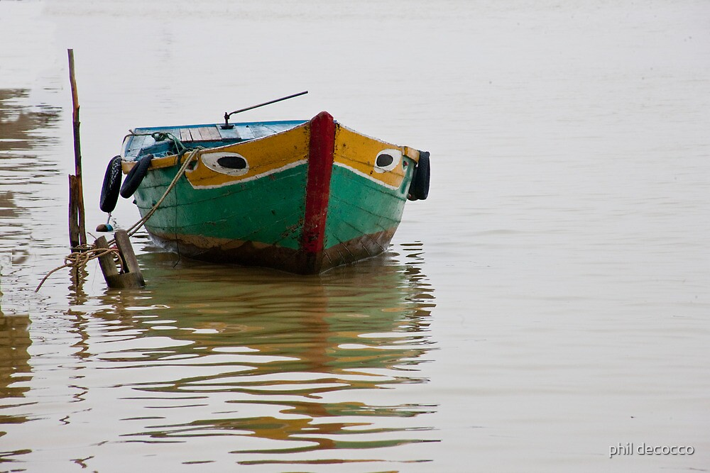 Muddy Water Boat by phil decocco