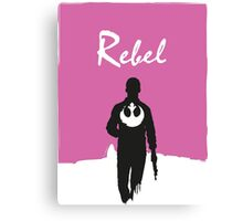 Rebel Han Solo Drive Mashup Canvas Print