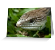 The Blue Tongue Greeting Card