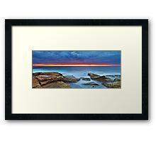 Silky Dawn Framed Print