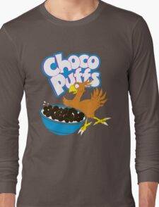 Coo Coo for Choco Puffs- Final Fantasy Spoof  Long Sleeve T-Shirt