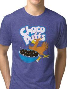 Coo Coo for Choco Puffs- Final Fantasy Spoof  Tri-blend T-Shirt