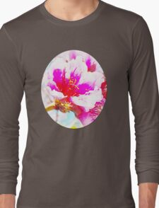Chalk Blossoms Long Sleeve T-Shirt