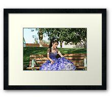 lady ariel Framed Print