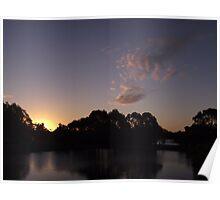 Tall Timbers sunset - Smithton (Tasmania) Poster