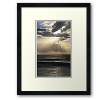The beach at Ponta Malongane Framed Print