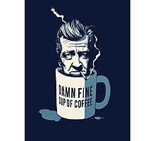 Cup of coffee - David Lynch Photographic Print